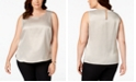 Kasper Plus Size Sleeveless Top