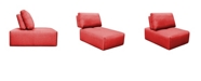 Moe's Home Collection Nathaniel Slipper Chair Red