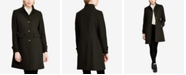 Lauren Ralph Lauren Stand-Collar Single-Breasted Walker Coat