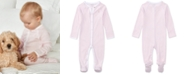 Polo Ralph Lauren Ralph Lauren Baby Girls Striped Cotton Coverall