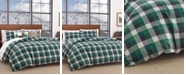 Eddie Bauer Birch Cove Plaid Dark Pine Bedding Collection