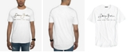 Sean John Men's Big and Tall Script Tee