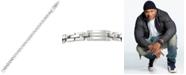 LEGACY for MEN by Simone I. Smith Men's Square Link Bracelet in Stainless Steel