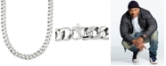 """LEGACY for MEN by Simone I. Smith Large Curb Link 24"""" (15 mm thick) Chain Necklace in Stainless Steel"""