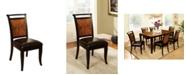 Furniture of America Leda Black Dining Chair (Set of 2)
