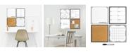 Brewster Home Fashions White 4 Piece Organizer Kit