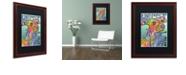 "Trademark Global Dean Russo 'Whippet Love' Matted Framed Art, 16"" x 20"""