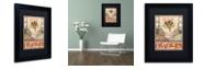 """Trademark Global Rachel Paxton 'Mink Meadows Butterfly' Matted Framed Art, 11"""" x 14"""""""