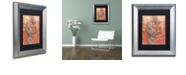 "Trademark Global Craig Snodgrass 'Lets Party' Matted Framed Art, 11"" x 14"""