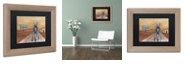 "Trademark Global Craig Snodgrass 'Paradisio' Matted Framed Art, 11"" x 14"""