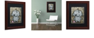 "Trademark Global Craig Snodgrass 'Weebot-Icecream' Matted Framed Art, 11"" x 14"""