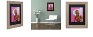 """Trademark Global Craig Snodgrass 'Segmented Man I' Matted Framed Art, 11"""" x 14"""""""