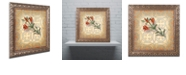 "Trademark Global Rachel Paxton 'Orange Lily' Ornate Framed Art, 11"" x 11"""