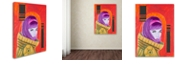 "Trademark Global Craig Snodgrass 'Astro-Anna I' Canvas Art, 14"" x 19"""