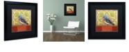 """Trademark Global Rachel Paxton 'Small Bird 237B' Matted Framed Art, 16"""" x 16"""""""