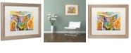 "Trademark Global Dean Russo 'The Pig' Matted Framed Art, 16"" x 20"""