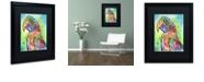 "Trademark Global Dean Russo 'Macaw' Matted Framed Art, 16"" x 20"""