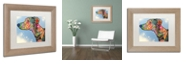"Trademark Global Dean Russo 'Enzo' Matted Framed Art, 11"" x 14"""