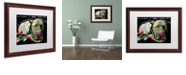 """Trademark Global Dean Russo 'Without a Word' Matted Framed Art, 16"""" x 20"""""""