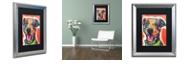"""Trademark Global Dean Russo 'Cheer' Matted Framed Art, 16"""" x 20"""""""