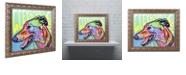 "Trademark Global Dean Russo 'Greyhound Luv' Ornate Framed Art, 11"" x 14"""