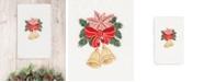 Linum Home CLOSEOUT!  Christmas Bells 100% Turkish Cotton Hand Towel