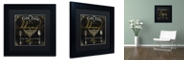 "Trademark Global Color Bakery 'La Cuisine Iii' Matted Framed Art, 11"" x 11"""
