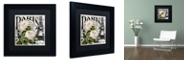 "Trademark Global Color Bakery 'Paris Blanc Ii' Matted Framed Art, 11"" x 11"""