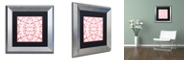 "Trademark Global Color Bakery 'Prima Donna Ii' Matted Framed Art, 11"" x 11"""