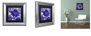 "Trademark Global Color Bakery 'Delphine I' Matted Framed Art, 11"" x 11"""