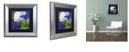 "Trademark Global Color Bakery 'Morphos One ' Matted Framed Art, 11"" x 11"""