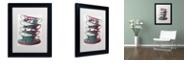 "Trademark Global Color Bakery 'Afternoon Tea Ii' Matted Framed Art, 11"" x 14"""