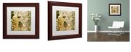 """Trademark Global Color Bakery 'Vino Italiano Iv' Matted Framed Art, 11"""" x 11"""""""