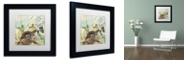 """Trademark Global Color Bakery 'Nesting Ii' Matted Framed Art, 11"""" x 11"""""""