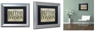 "Trademark Global Color Bakery 'British Invasion' Matted Framed Art, 11"" x 14"""