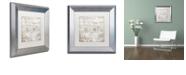 "Trademark Global Color Bakery 'Bon Mots Iv' Matted Framed Art, 11"" x 11"""