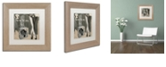 "Trademark Global Color Bakery 'New York Style Ii' Matted Framed Art, 11"" x 11"""