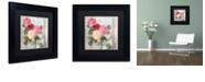"Trademark Global Color Bakery 'Chalet D'Ete Roses' Matted Framed Art, 11"" x 11"""