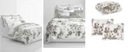 Lauren Ralph Lauren Flora Grey 3-Pc. Cotton Full/Queen Comforter Set