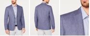 Calvin Klein Men's Slim-Fit Blue Stripe Sport Coat