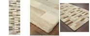 """Oriental Weavers Infused 67006 Beige/Gray 2'6"""" x 8' Runner Area Rug"""
