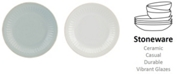 Lenox French Perle Groove Collection Accent Plate