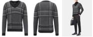 Hugo Boss BOSS Men's V-Neck Knit Sweater