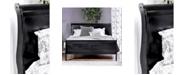 Furniture of America Cedric Full Platform Sleigh Bed