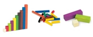 Learning Resources Wood Cuisenaire Rods Small Group Set-155 Pc