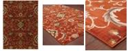 "Oriental Weavers CLOSEOUT!  Casablanca 4471B Red/Multi 9'10"" x 12'10"" Area Rug"