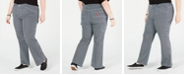 Dickies Trendy Plus Size Striped Carpenter Pants