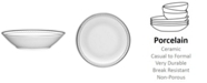 Noritake Rochester Platinum Soup
