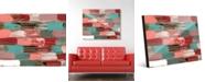 "Creative Gallery Incontri Delta Abstract 16"" x 20"" Acrylic Wall Art Print"