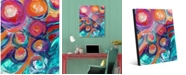"Creative Gallery Zuzu Delta Abstract 20"" x 24"" Acrylic Wall Art Print"